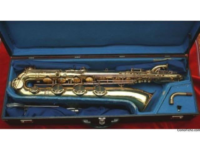 Saxofón Selmer Mark VI Baryton 1959