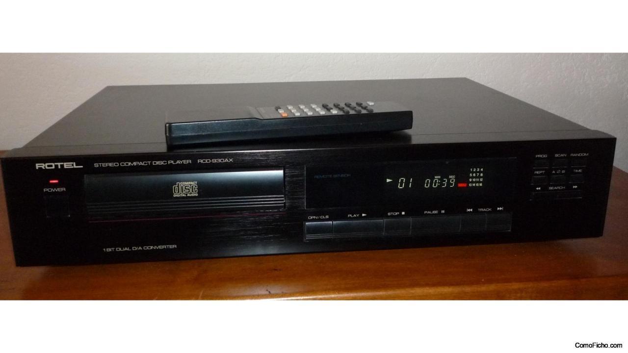 CD player Rotel RCD-971