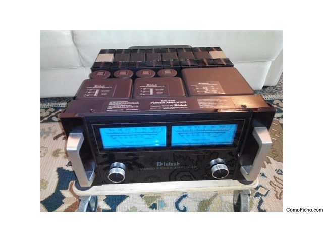 Amplificador Mcintosh MC-500 2x 500w a 8ohms .