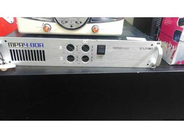 Ecler Amplificador multicanal MPA4-80R