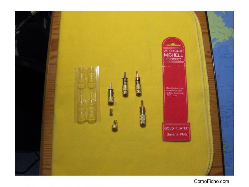 conectores banana Michell Engineering