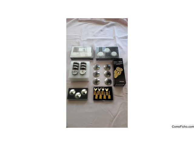 Vendo diferentes accesorios para equipos de audio