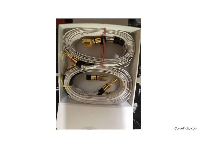 Cables de altavoces FLAT tipo NORDOST
