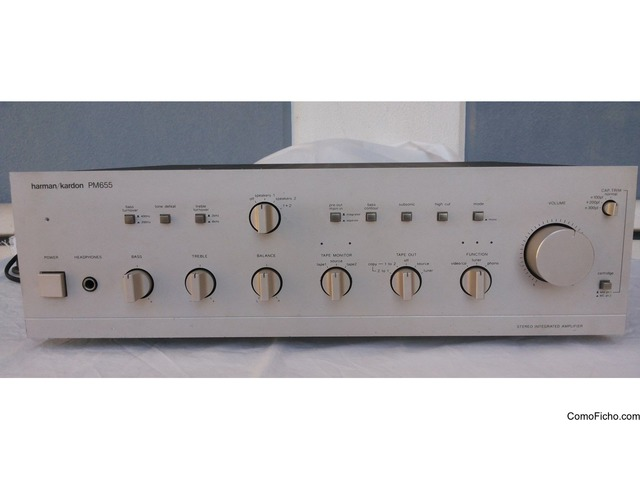 Amplificador + Previo HARMAN KARDON PM655