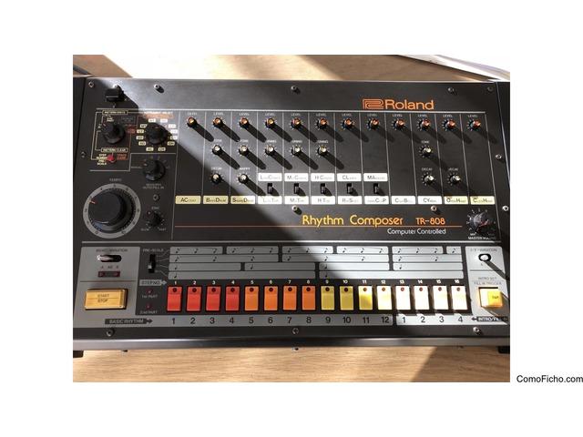 Roland TR-808 + Kenton Pro 2