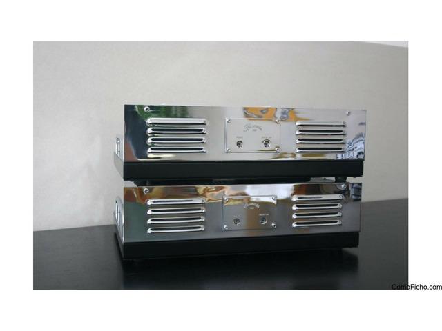 Dos amplificadores Burmester 828