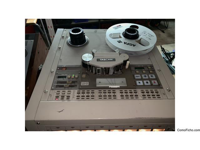 Magnetófono TASCAM MS 16 Para studio 16 canales
