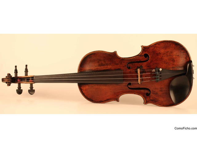 Viejo violin petrus guarnerius