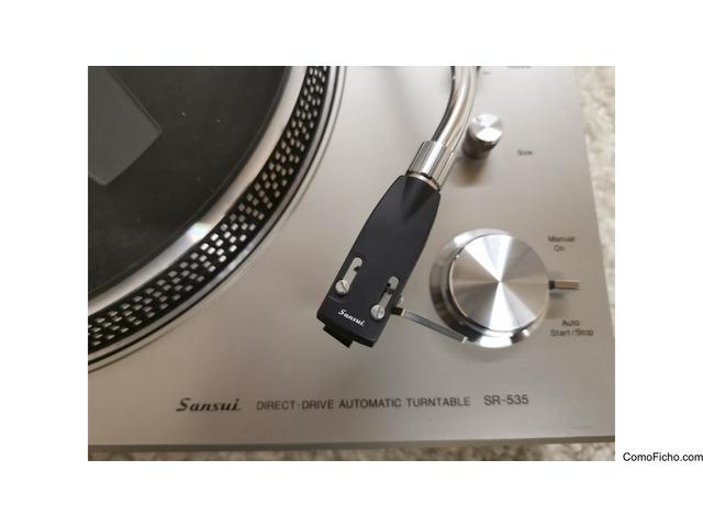 Sansui SR-535 + Audio Technics 250EB