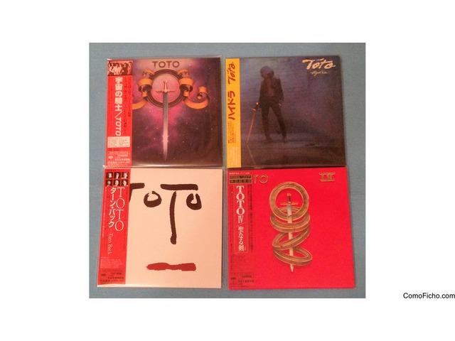 TOTO - 7 CDs - REPLICAS MINI LP - MADE IN JAPAN