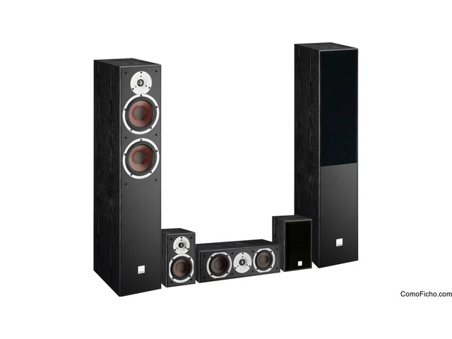 Conjunto home cinema Dali spektor