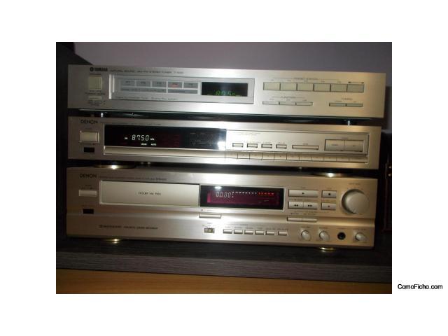 Sintonizadores Yamaha T 500 DENON TU 660 Pletina DENON DRS 640