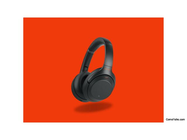 Sony WH 1000M3B Auriculares negros nuevo
