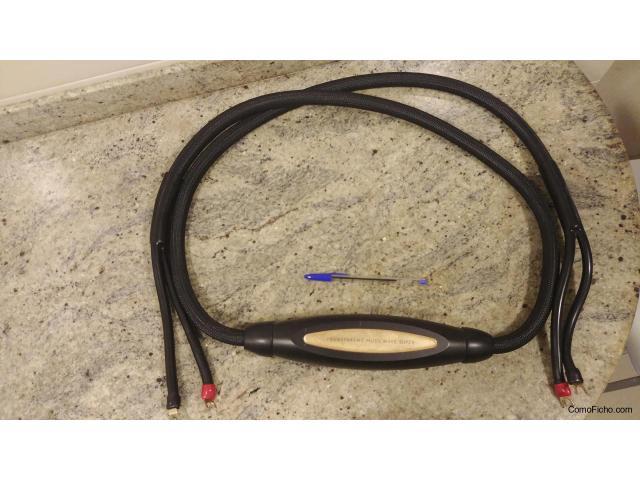 Cables Transparent para altavoz central