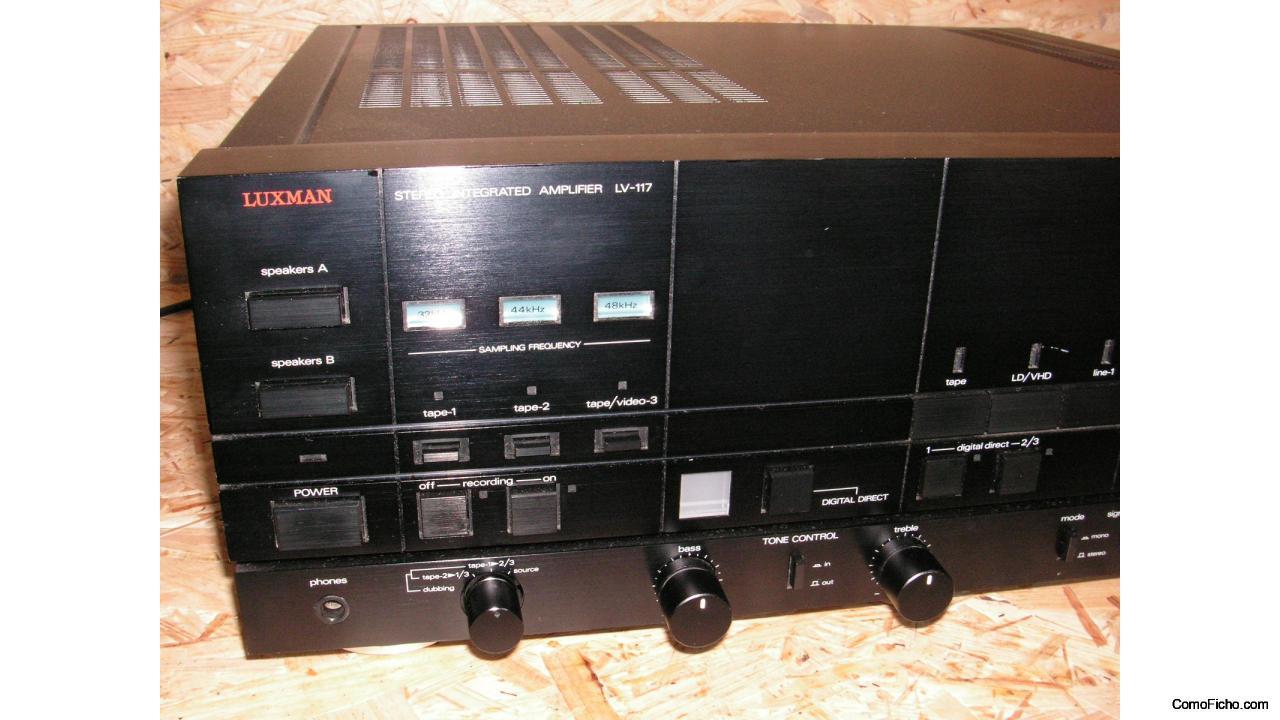 LUXMAN modelo LV-117