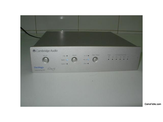 ¡VENDIDO! CAMBRIDGE AUDIO DAC MAGIC ¡RESERVADO!
