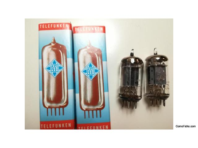 (VENDIDAS) 2 Telefunken ECC82 pareadas