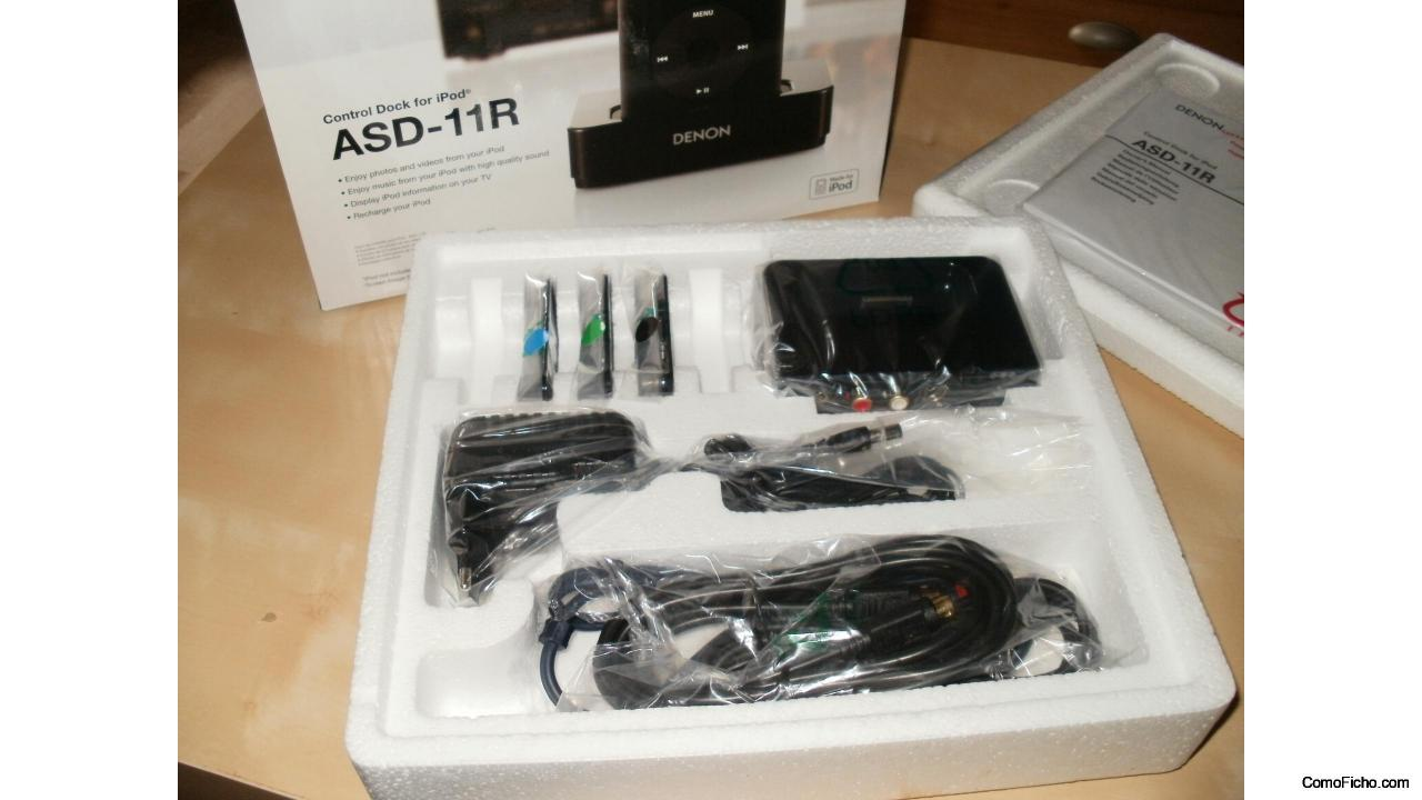 Base para iphone Denon ASD 11R