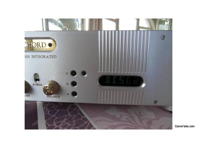 Amplificador CHORD CPM 2600  estupendo 2x120 watts