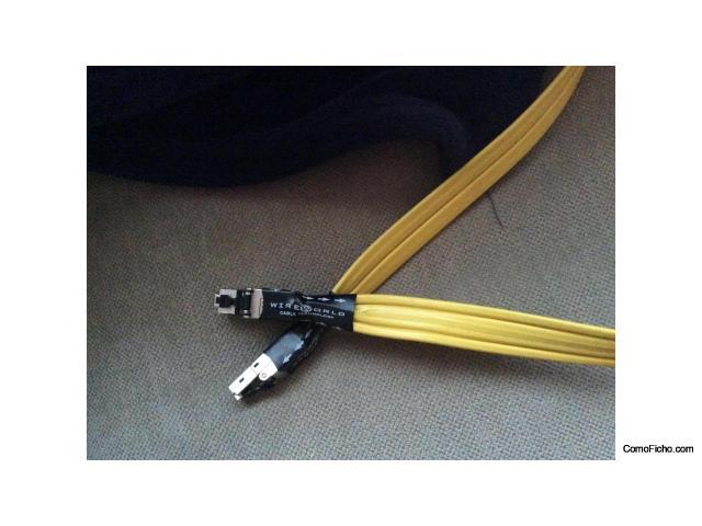 VENDIDO Cable ethernet WIREWORLD CHROMA 1 metro.