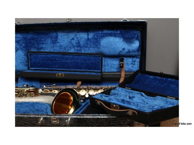 King Super 20 Silver Sonic saxofón ténor