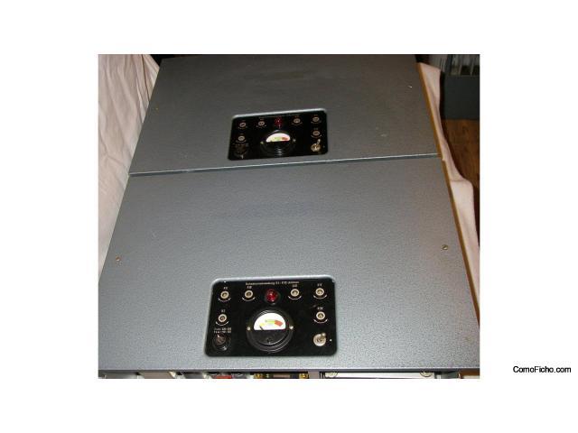 Par Amplificadores Siemens klangfilm 6 S