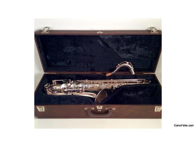 Selmer tenor saxofón, año 1977 mark VII