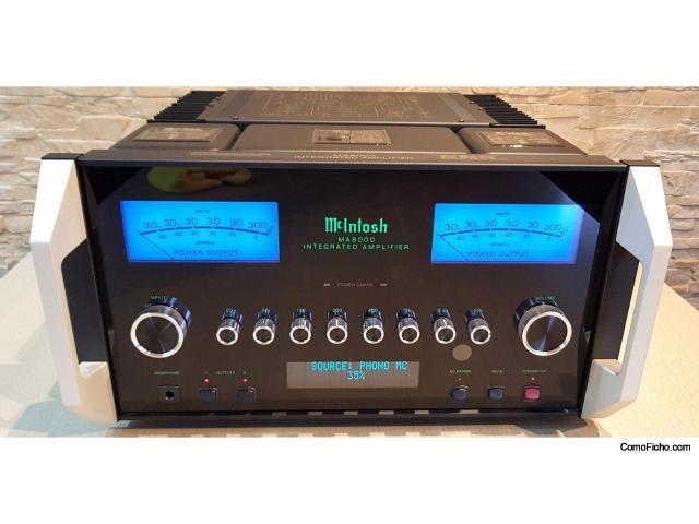 McIntosh MA8000 - Amplificador integrado 2x300W