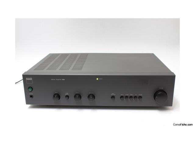 Amplificador Integrado NAD C302 Seminuevo