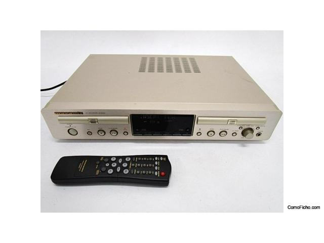 Grabador/Reproductor de CD doble Marantz DR6050