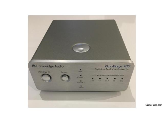 [VENDIDO] DAC Hi-Fi Cambridge Audio DacMagic 100