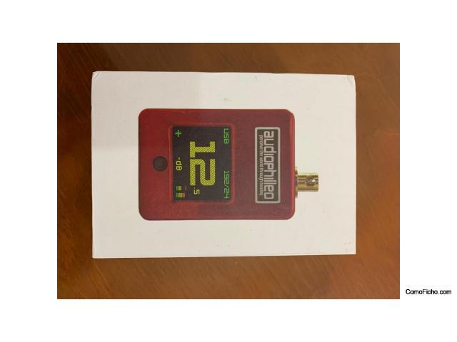 Convertidor USB a SPDIF Audiophilleo 2