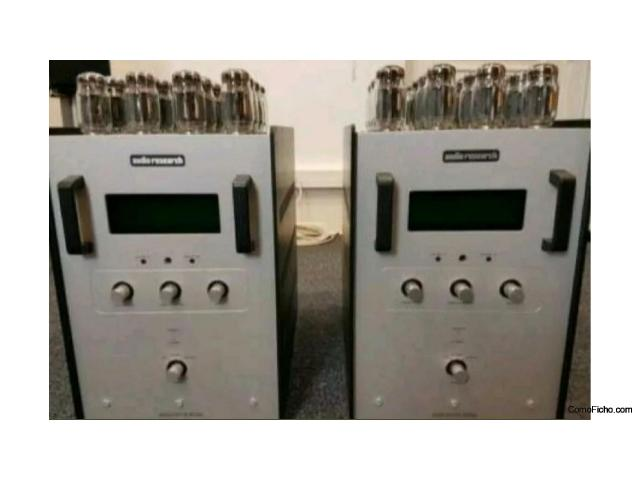 PAIR POWER AMPLIFIER AUDIO RESEARCH AT 610T