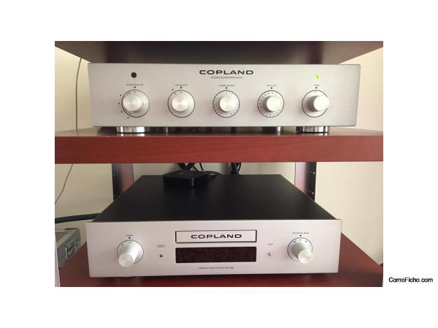 Vendido! - Amplificador Integrado Copland CSA 28