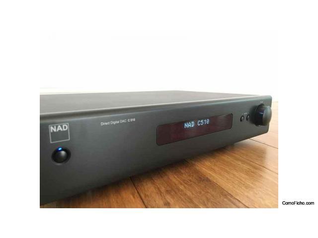 NAD C510 Preamplificador de línea DAC con entradas digitales