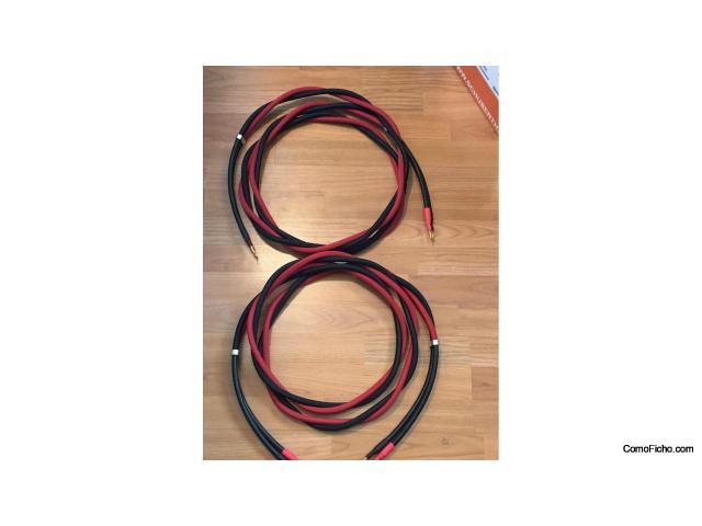 """Vendo: Cable de altavoz """"The Chord Company"""", modelo """"SIGNATURE"""", Mide 3,00m"""