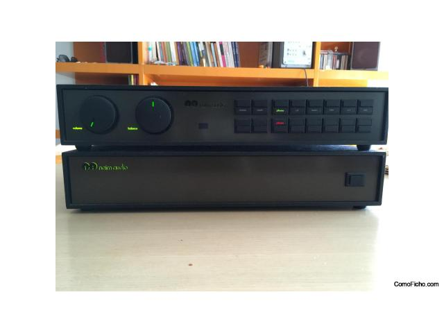 Naim 52 + PS power supply both revised at Naim