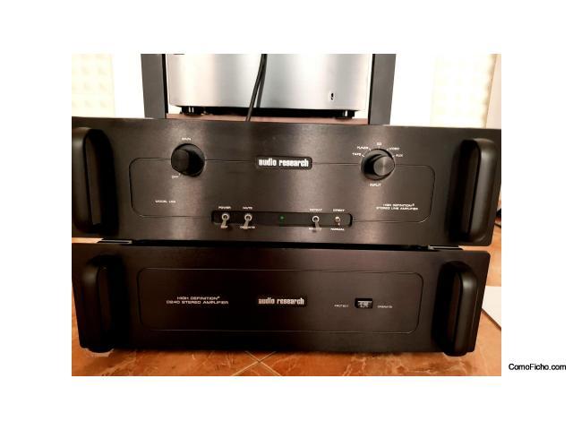 CAMBIO Previo + Etapa Audioresearch