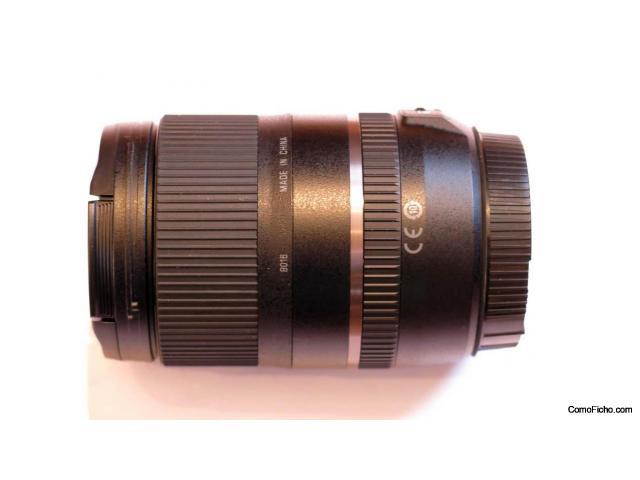 Zoom Tamron 16-300mm f/3.5-6.3 Di-II VC PZD (montura canon)