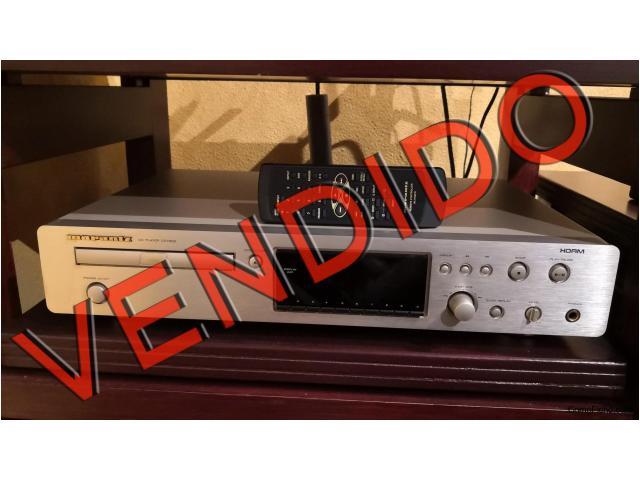 VENDIDO  Reproductor de CD Marantz CD7300