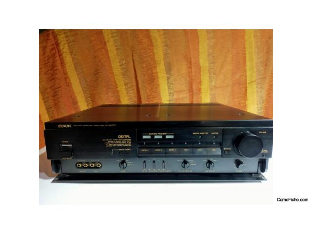 Vendo Previo digital analogico Denon DAP 5500