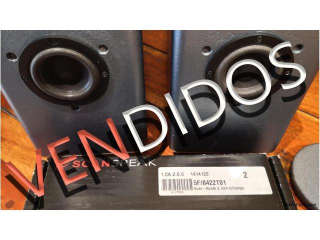 VENDIDOS Altavoces de escritorio HUM con driver ScanSpeak 5F/8422T01
