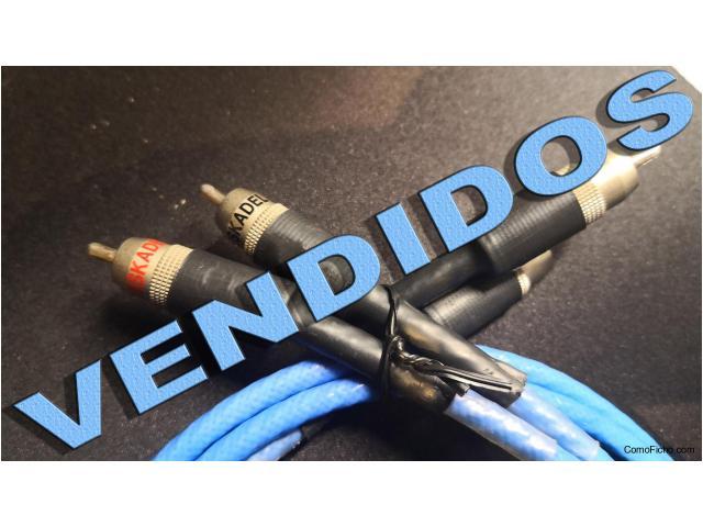 VENDIDO Cable RCA DESKADEL 2X1 METRO