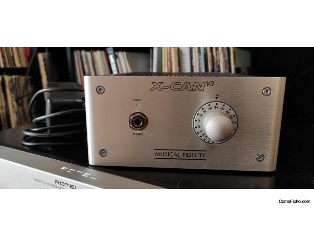 Amplificador de Auriculares Musical Fidelity xCAN v3