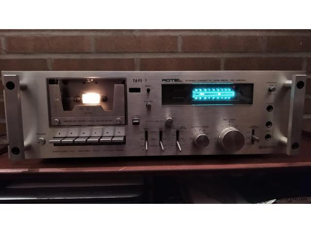 Rotel RD-2200 Stereo Cassette Deck