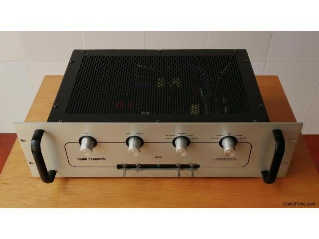 Audio Research SP 9 Previo con Phono