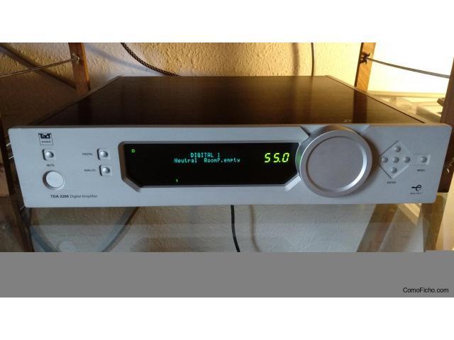 Amplificador TACT- Lyngdorf TDA 2200