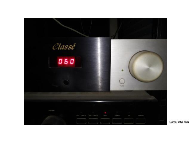 Classé CAP-101 amplificador