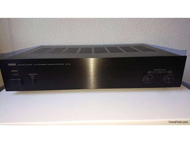 YAMAHA Procesador DSP100 + Etapa M-35 ( 4x20W / 2x40W )