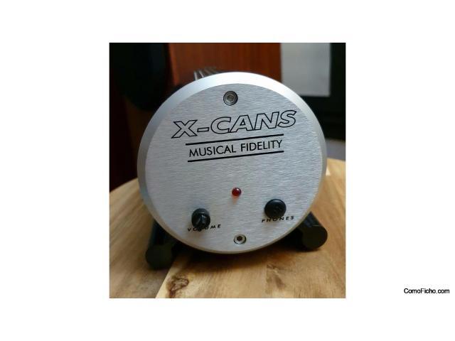 Amplificador de auriculares a válvulas en clase A Musical Fidelity X-CANS